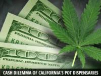Cash Dilemma of California's Pot Dispensaries