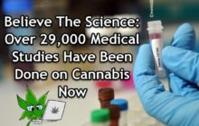 Believe The Science – Over 29,000 Medical Studies Have Been Done on Cannabis Now